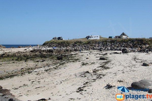 Camping à proximité de la plage de Plouescat