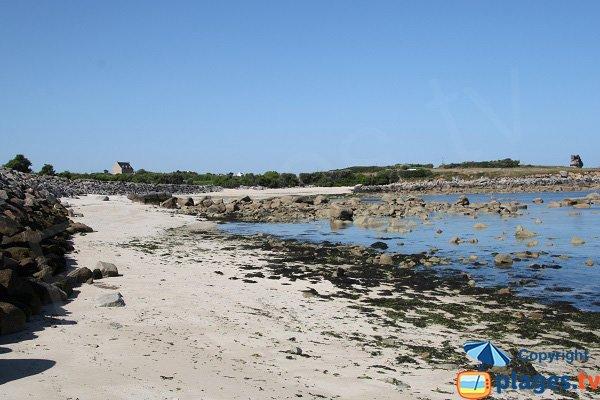 Photo de la plage de la Click à Plouescat
