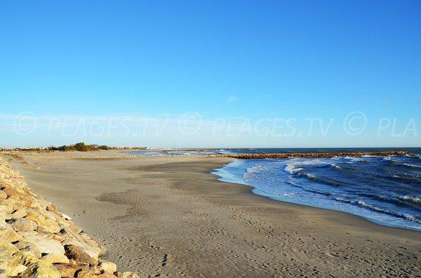 Anse di sabbia fino -  Clos du Rhone a Saintes Maries de la Mer