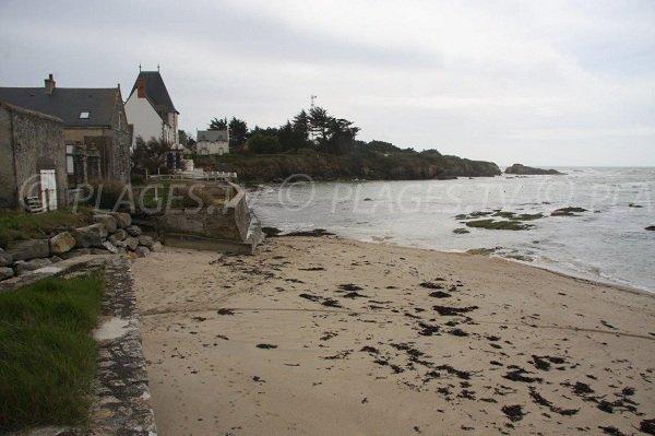Closio beach in Piriac sur Mer in France