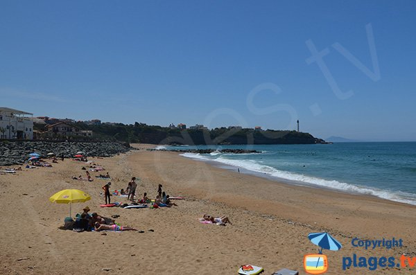 Photo of Club beach in Anglet in France
