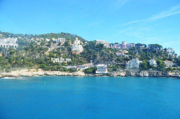 Vue du site de Coco Beach depuis la mer