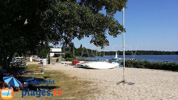 Canoé sur le lac du Léon