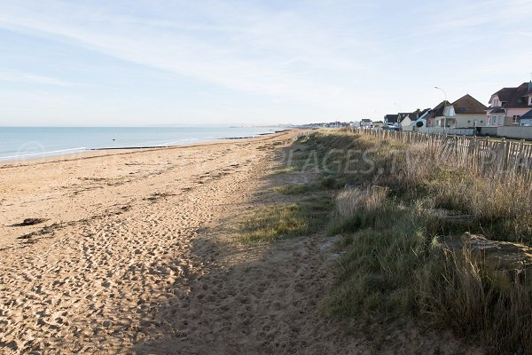 Photo of Colleville-Montgomery beach towards Ouistreham