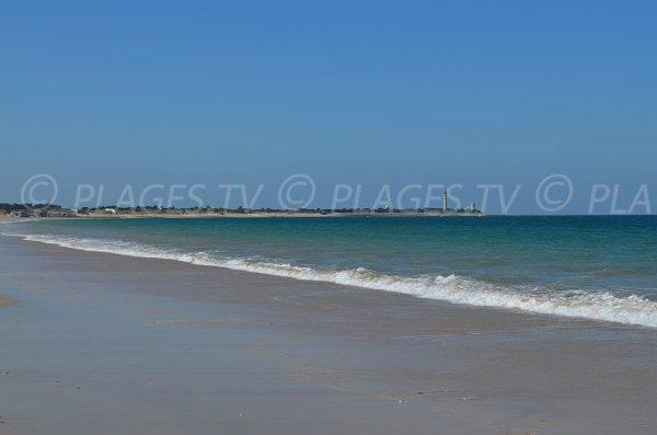 Baignade sur la plage de la Conche à St Clément les Baleines