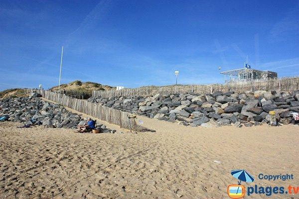 Poste de secours de la plage des Conches - Longeville sur Mer