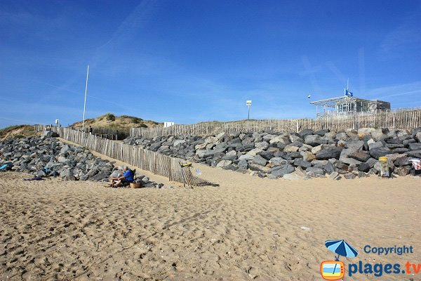 Lifeguard station of Conches beach - Longeville sur Mer