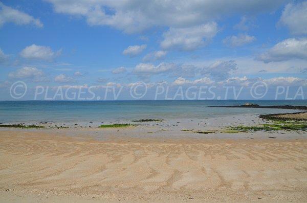 Mer sur la plage du Conguel à Quiberon