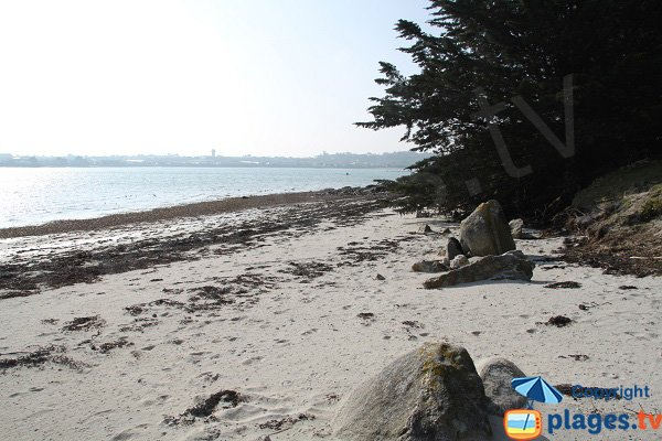 Sand beach of Roscoff