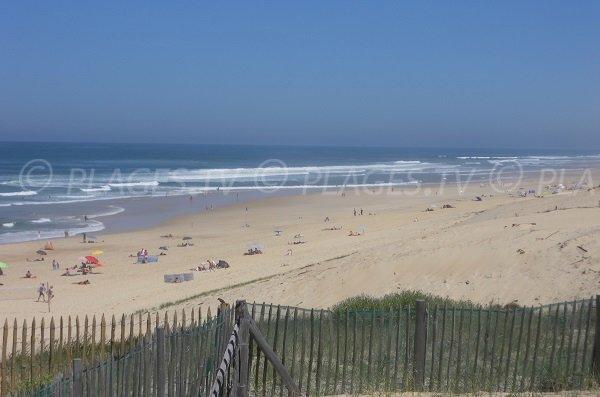 Photo de la plage de Contis dans les Landes