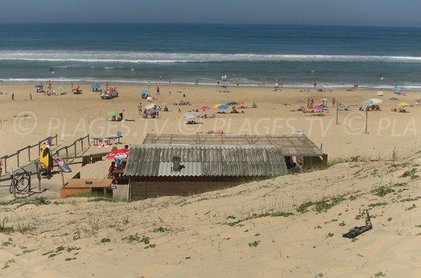 Spiaggia Contis - Zona Media