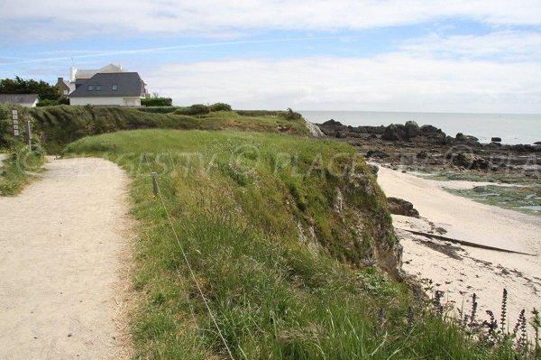 Sentiero doganale e spiaggia di Pouliguen