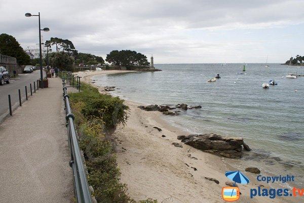 Photo de la plage du Coq à Bénodet
