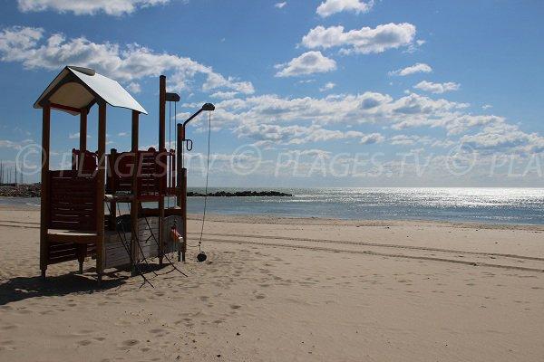 Coquilles Beach in PalavaslesFlots Hrault France Plagestv