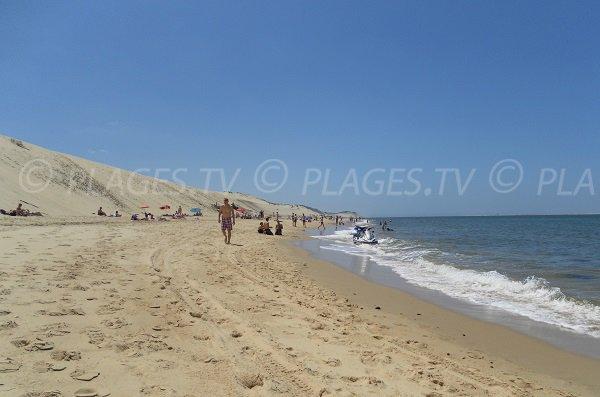 Spiaggia della Duna del Pilat in Francia