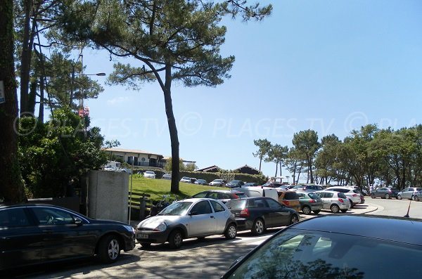 Parking of Corniche beach - Dune du Pilat