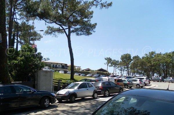 Parking de la plage de la Corniche - Dune du Pilat