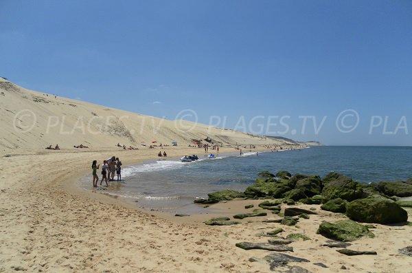 Spiaggia della Corniche a Pyla sur Mer - Francia