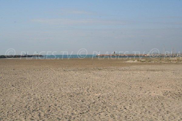 Plage de la Corniche à Sète