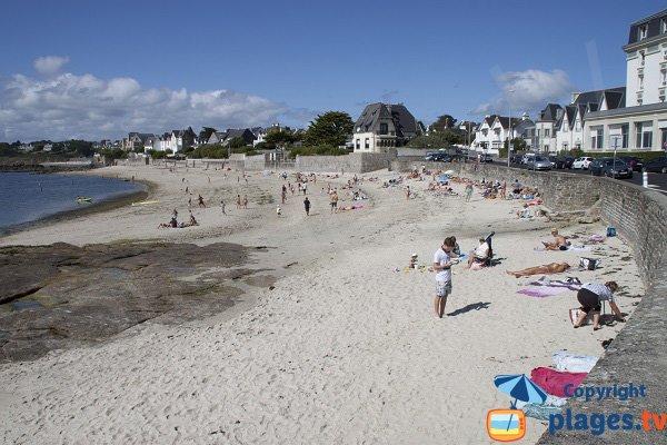 Photo de la plage de Cornouaille à Concarneau - Bretagne