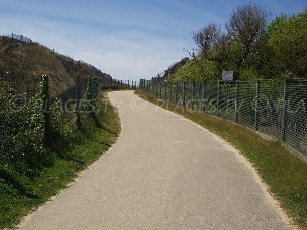 Access to Corps de Garde beach in La Tranche sur Mer