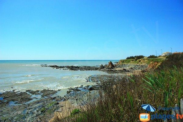 Coastline near Corque cove - Brétignolles sur Mer