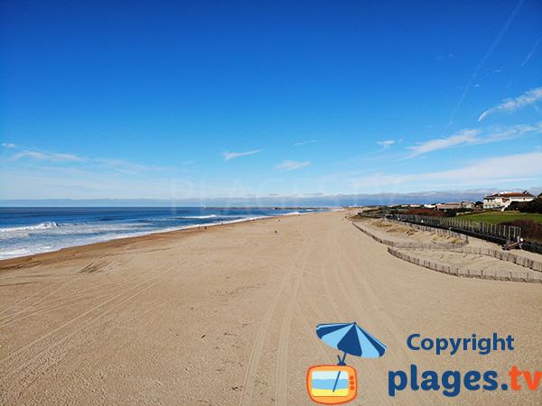 Grande plage à Anglet - Les Corsaires