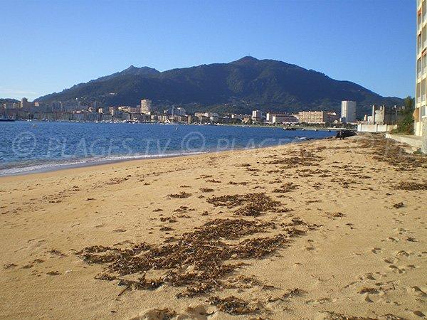 Plage Corse Azur à Ajaccio en Corse