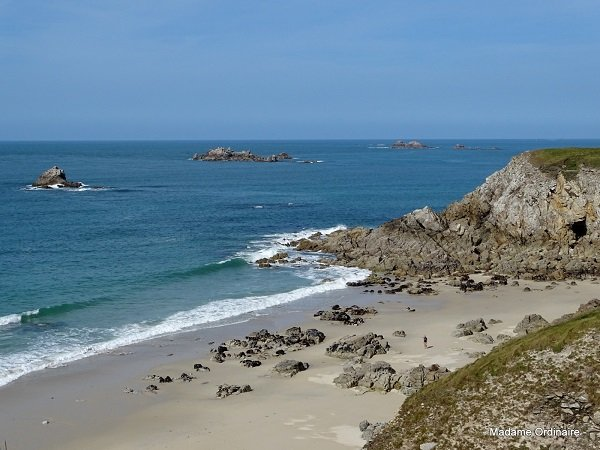 écueils à proximité de la plage de Corsen - Finistère
