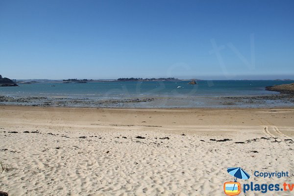 Island of Callot in Brittany