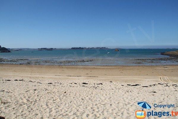 Vue sur l'ile Callot