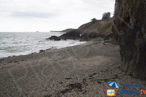 Crique du Cotentin en galets - Planguenoual