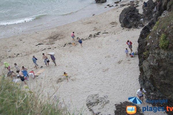 Photo de la plage du Cotentin à Planguenoual