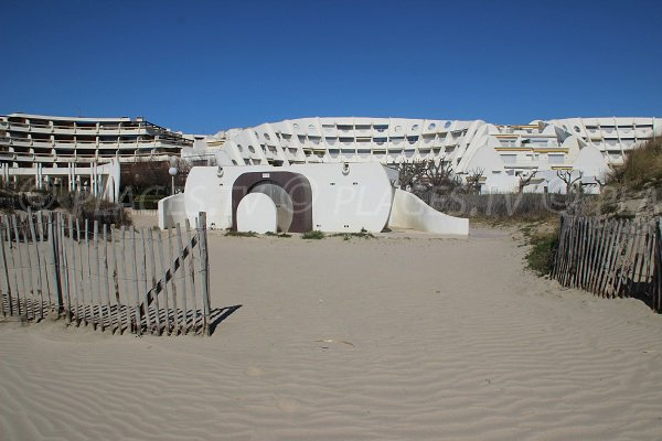 Holiday apartments in La Grande Motte near the beach