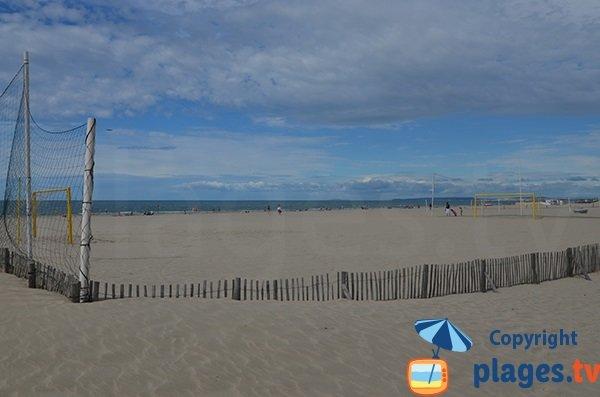 Beach soccer à La Grande Motte