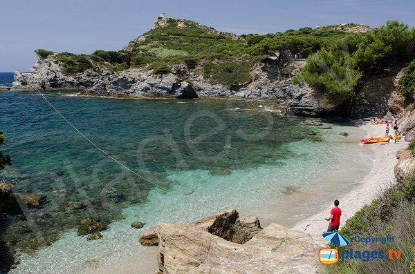 Photo de la plage de Coucoussa sur l'ile des Embiez