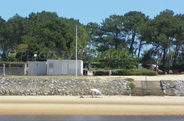 Poste de secours de la plage du Courant de Mimizan