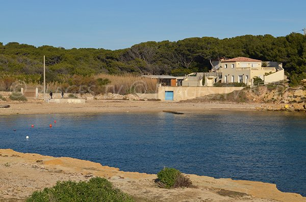 Couronne Vieille bay in Martigues