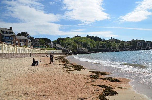 Coz Pors and its beach - Trégastel