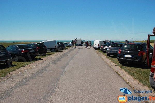 Parking of Cran d'Escalles