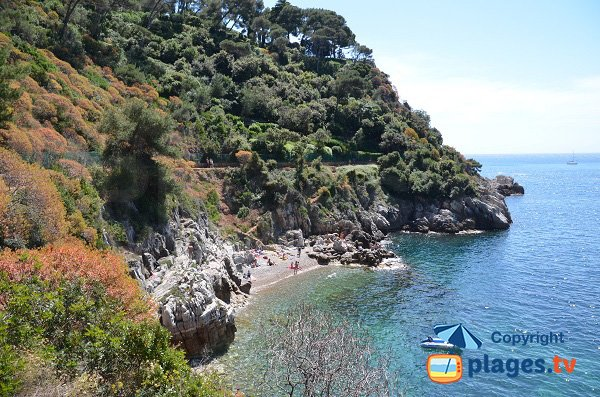 Photo of Crau de Nao beach in St Jean Cap Ferrat