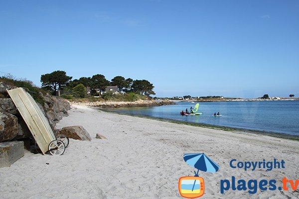 Photo de la plage de Crec'h an Avel à Plouguerneau