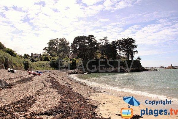 Galets sur la plage de Crec'h Touric à Bréhat