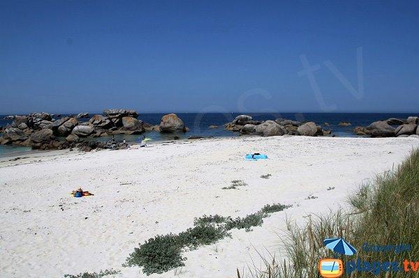plage de Crémiou à Kerlouan