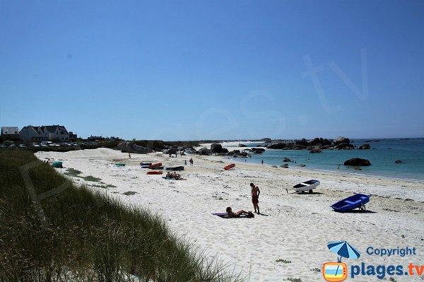 Belle plage à Kerlouan - Crémiou
