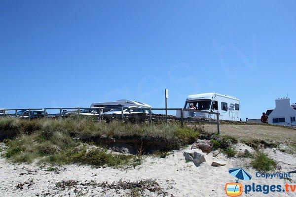 Parking de la plage de Crémiou - Kerlouan