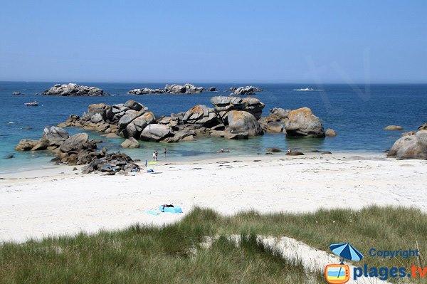 Photo de la plage de Crémiou à Kerlouan