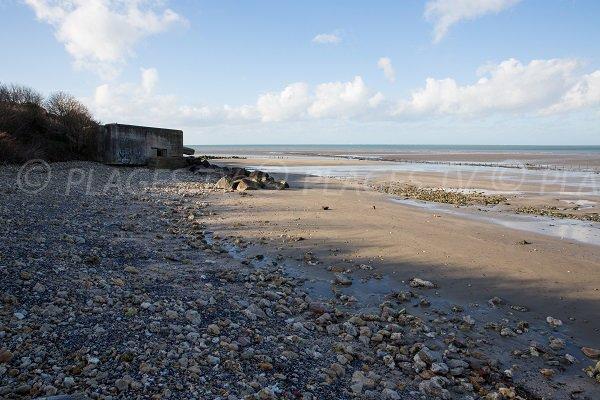 Blockhaus on the beach of Cricqueboeuf