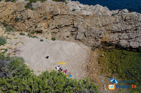 Photo of Cride cove in Sanary sur Mer (Var)
