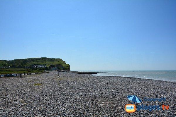 Photo de la plage de Criel sur Mer côté sud